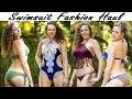 ASMR Ear Massage, Binaural Whisper   2017 Summer Swimsuit Fashion Haul & Try On