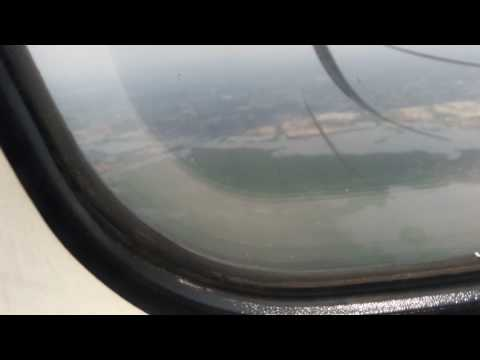 NOVO AIR SYLHET TO DHAKA LANDING AT SHAHJALAL INTERNATIONAL AIRPORT
