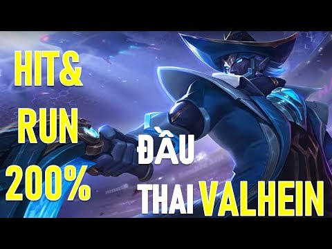 Phong cách Hot Valhein chuyển sinh - Hít and Run 200% tốc đánh