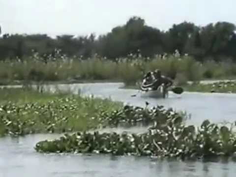 Zambia Canoeing along with Zambesi