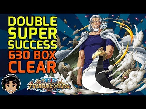 Double Super Success! Cleaning 630 Box Space! [One Piece Treasure Cruise]