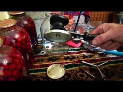 Как отрегулировать закаточную машинку для банок
