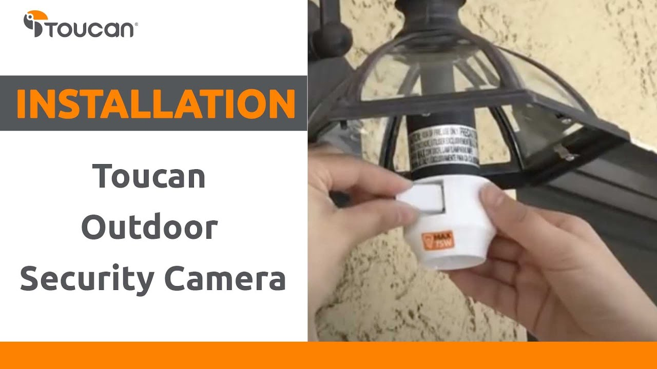 Toucan Weatherproof Outdoor Security Camera: Installation Video