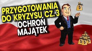 Idzie MEGA KRYZYS cz 3 - Jak Ochronić OSZCZĘDNOŚCI Dom Mieszkanie - Analiza Komentator Pieniądze PL
