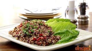 Quinoa Recipes - How To Make Lemon Basil Quinoa Salad