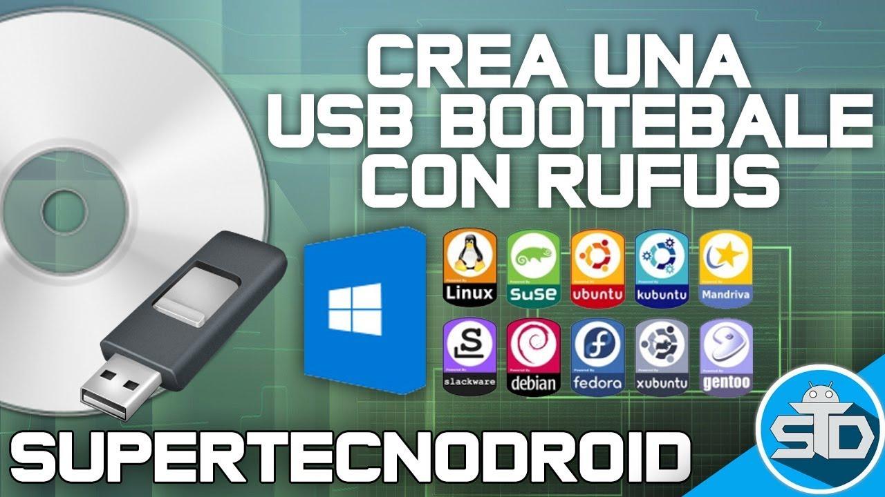bootear usb windows 7 con rufus
