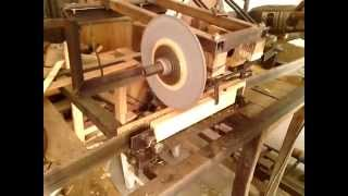 My Homemade Automatic Band Saw Sharpener  From Iqb