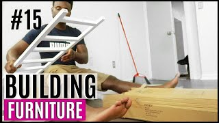 JOURNEY TO HOME #15 | BUILDING FURNITURE FOR MUDROOM BASEMENT