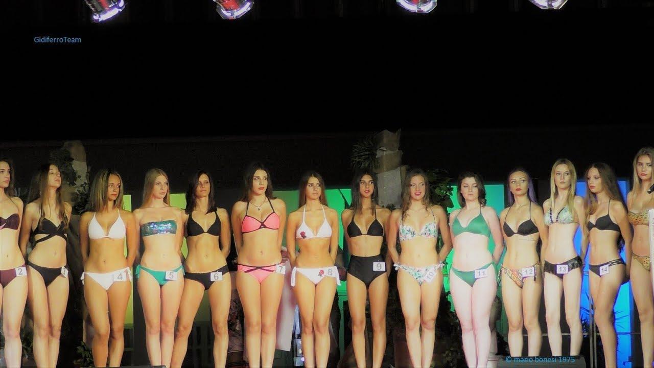 Miss Graticolato Romano 2017 Sfilata in Abito, e Bikini  Borgoricco