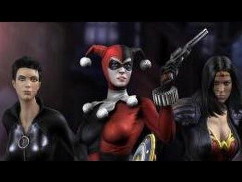 Injustice gods among us bad girls costume pack hd youtube voltagebd Gallery