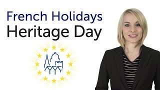 Learn French Holidays - Heritage Day - Journées patrimoine
