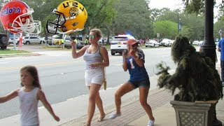 BUSHMAN PRANK AT FLORIDA GATORS VS LSU