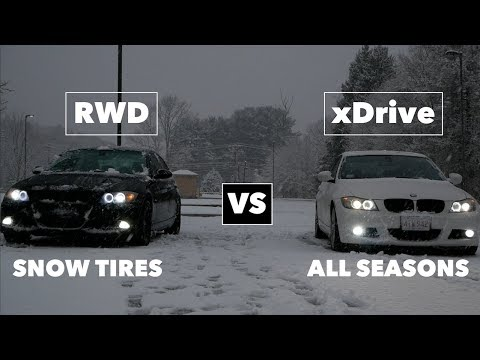 """Why NOT to Buy """"All Seasons"""" // SNOW TEST"""