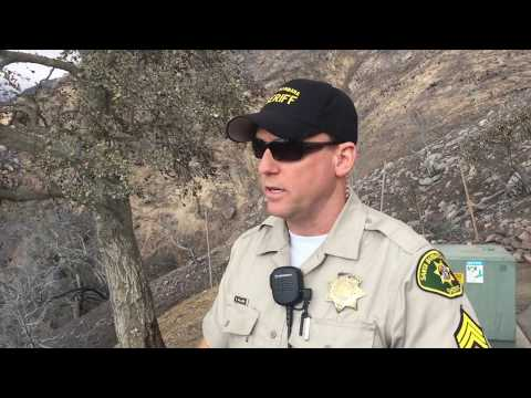 Behind the Scenes of Santa Barbara County Sheriff's Response to #ThomasFires