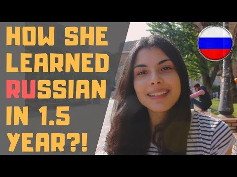 How A Greek Girl Learned The Russian Language In 1.5 Year