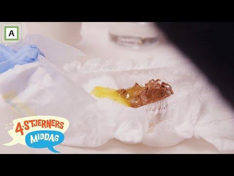 4-stjerners Middag | Får dessert servert i en bleie | TVNorge