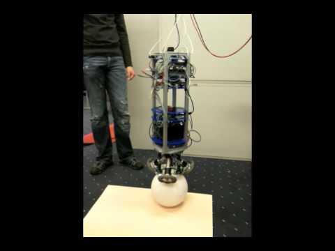 Ballbot - Ball Balance Robot