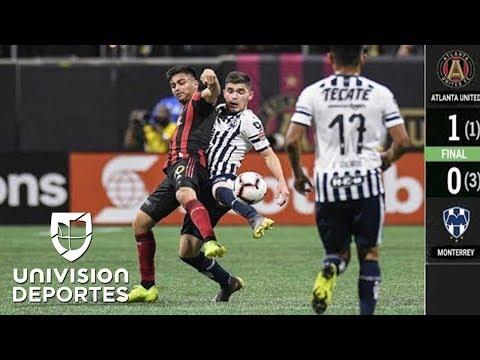 Atlanta 1-0 Monterrey – GOLES Y RESUMEN – Cuartos de Final – Liga de Campeones Concacaf