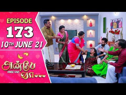 Anbe Vaa Serial | Episode 173 | 10th June 2021 | Virat | Delna Davis | Saregama TV Shows Tamil