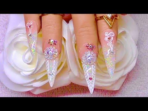 💎💎💎💎ICE DIAMOND  💎💎💎💎( acrylic nails )