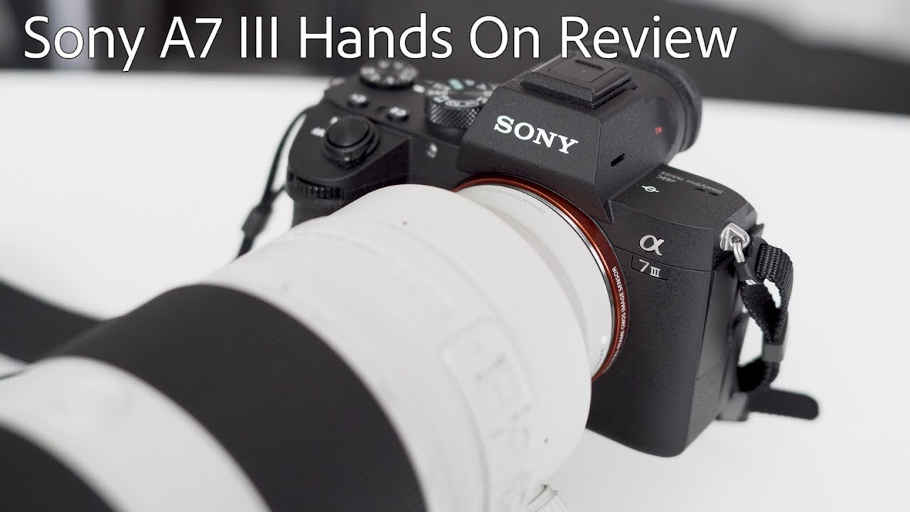 Sony A7 III Hands On Review: My Honest Thoughts \