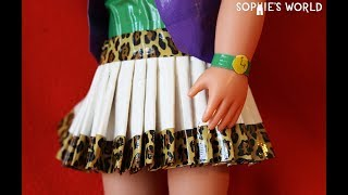 Download lagu How to Make a Duct Tape Doll Skirt A Redo Sophie s World MP3