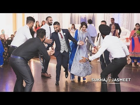Sukha & Jasmeet | Surprise Engagement Performance