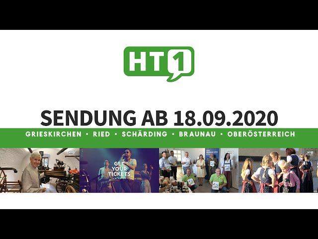 HT1 Sendung ab 18. September - Tennismeisterschaft, Volksmusik, wies Innviertel schmeckt - HT1Medien