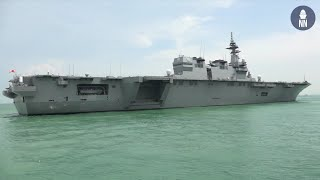 Aboard JS Izumo DDH-183 Helicopter Destroyer of the JMSDF