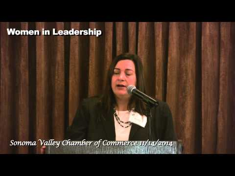 Women in Leadership Sonoma Chamber of Commerce