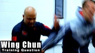 Wing Chun training -wing chun arm broken Q88