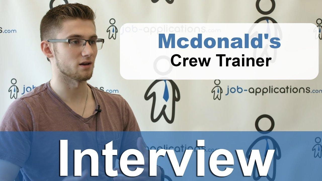 McDonalds Crew Member