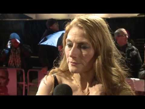 The Girl With The Dragon Tattoo: Geraldine James's  at the London Premiere