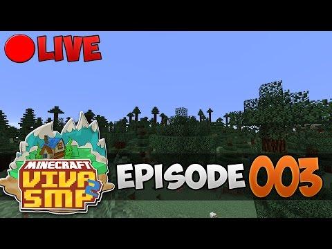 [LIVE] VivaSMP S2 Episode 3 - Mulai Buat Rumah !!