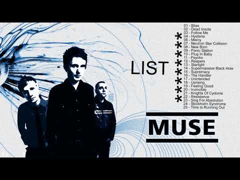 Top 25 Muse Greatest Hits | The Very Best Of Muse Playlist [Music Cover]