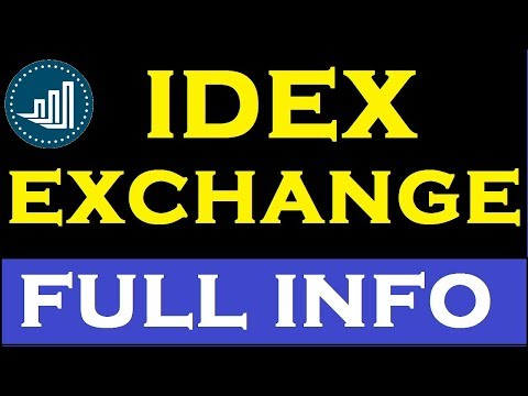 IDEX Exchange Full Tutorial ll How to Buy/Sell in IDEX in Hindi