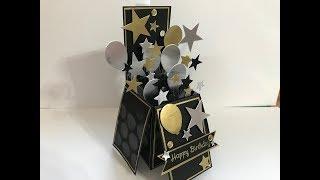 手作影片#134:豪華版禮物盒生日卡