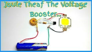 Joule Thief voltage Booster