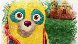 Special Agent Oso Disney Junior Cartoon Characters Color Pencil Drawings Video For Kids