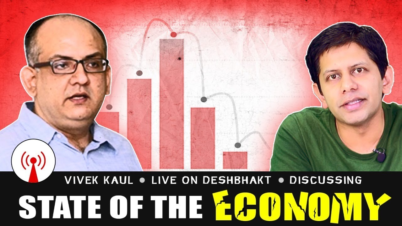 State of Indian Economy (After 3 months of Lockdown) | Livestream with Vivek Kaul & Akash Banerjee