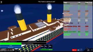 The Sinking Of Titanic on Roblox