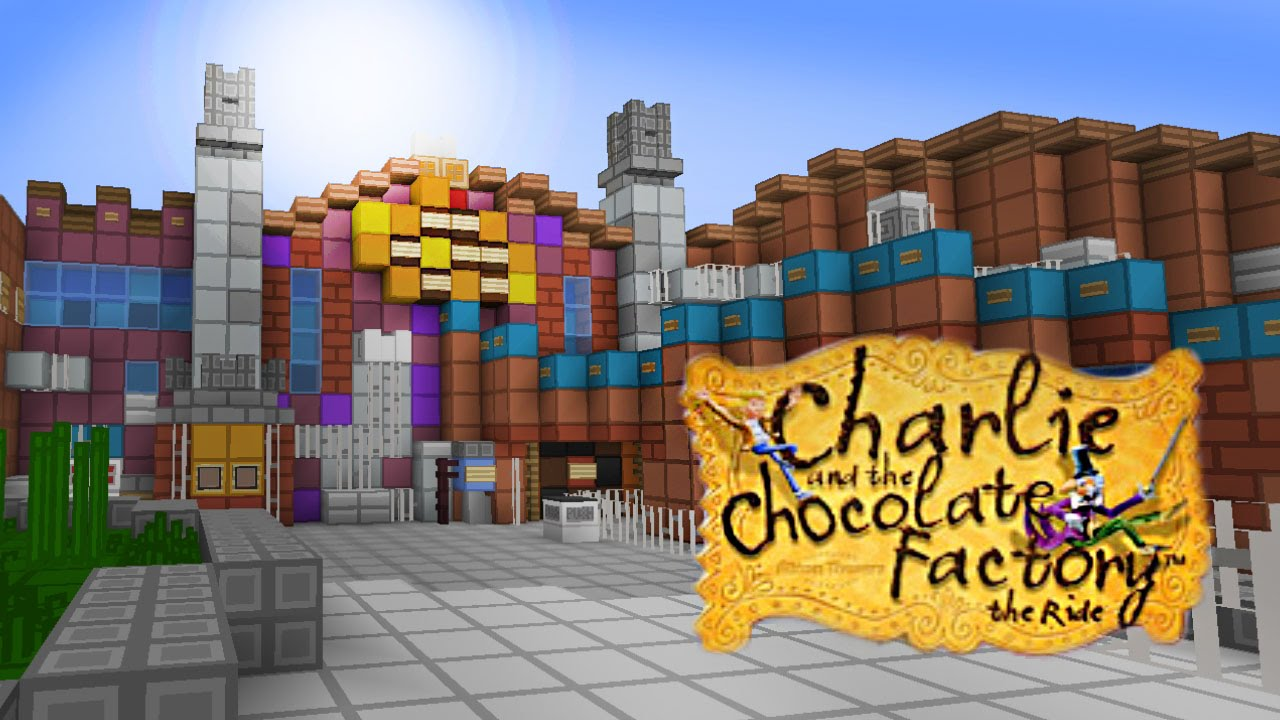 minecraft charlie and the chocolate factory alton towers minecraft charlie and the chocolate factory alton towers