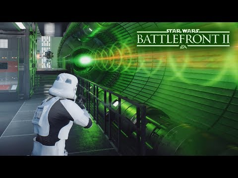 Star Wars Battlefront 2 - The Death Star Fires It's SUPER LASER!  Epic Galactic Assault Gameplay!