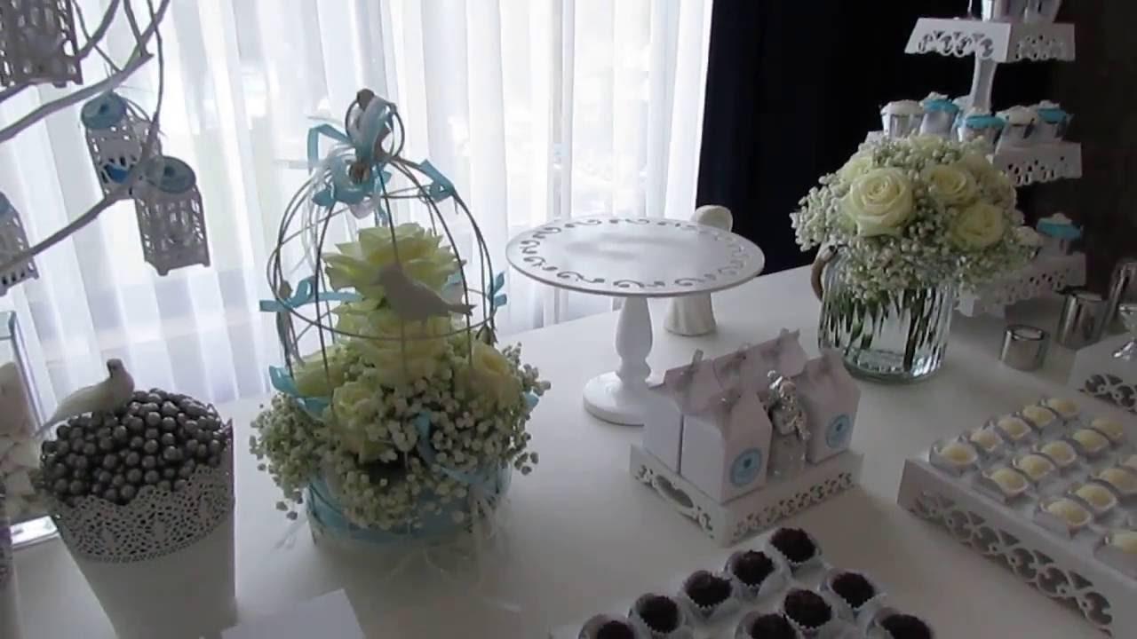 Decoraç u00e3o Primeira Comunh u00e3o by Arena Festas YouTube -> Decoração De Primeira Comunhão Simples Com Flores