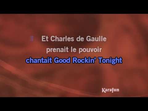 Karaoké Et la voix d'Elvis - Eddy Mitchell *