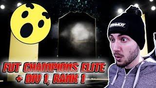 ОТНОВО?! FUT CHAMPIONS ELITE & DIVISION 1 RANK 1 НАГРАДИ - FIFA 19