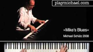 »Mikes Blues« - performed by Michael Schütz
