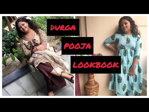 [VIDEO] - DURGA POOJA LOOKBOOK 2019 || FESTIVE SEASON OUTFIT IDEAS || ELEGANCE INSIGHT || 2