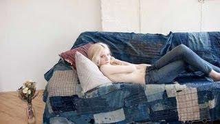 Стильный джинсовый интерьер(Джинсовая тема для интерьера интересна тем, что в ней присутствуют сразу 2 элемента: цвет и текстура. Оттено..., 2013-10-31T02:30:00.000Z)