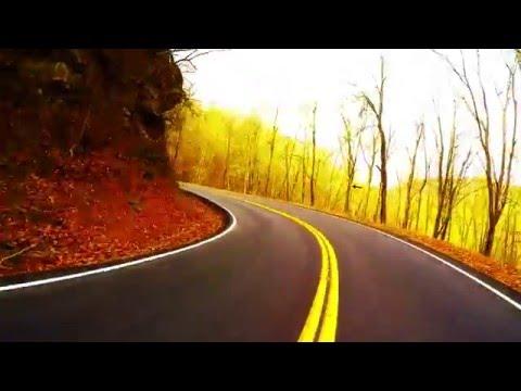 GoPro Highway 116 North of Oak Ridge Tennessee on Triumph Street Triple R